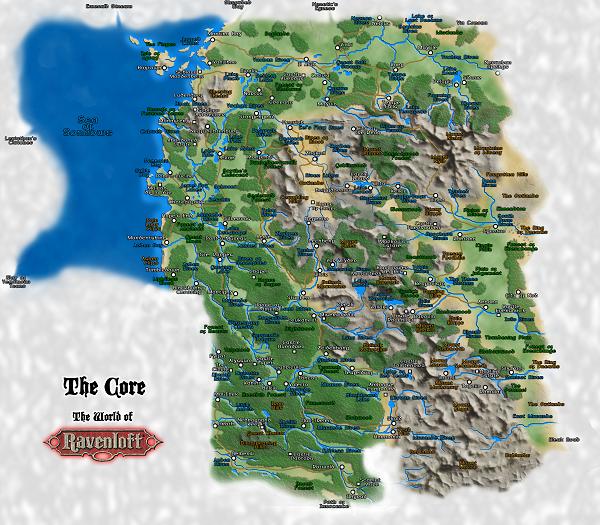 Ravenloft Jester S Map Gallery